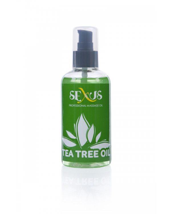 Sexus Профессиональное массажное масло на водной основе с ароматом чайного дерева 817042