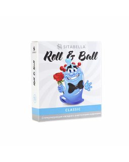 Насадка-презерватив стимулирующая  SITABELLA R&B КЛАССИКА 4 шарика
