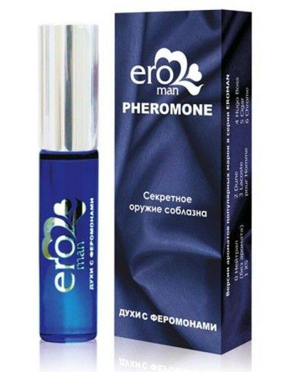 Духи с феромонами EROMAN №1: аромат XS