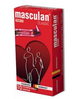 Masculan Classic 1 № 10 шт.нежные, цена за 1 шт