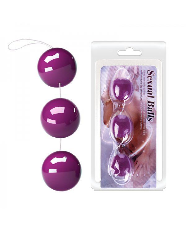Вагинальные шарики Sexual Balls BI-014049-3