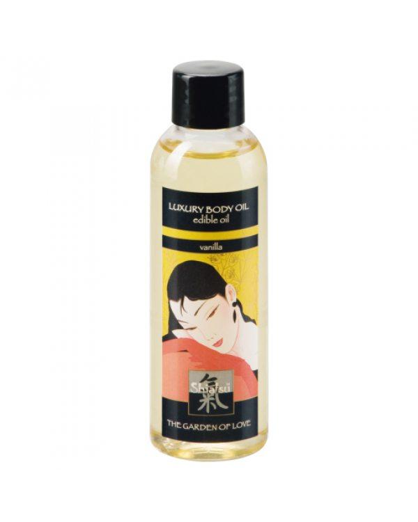 Съедобное масло для тела с ароматом ванили 100 мл. . 66015