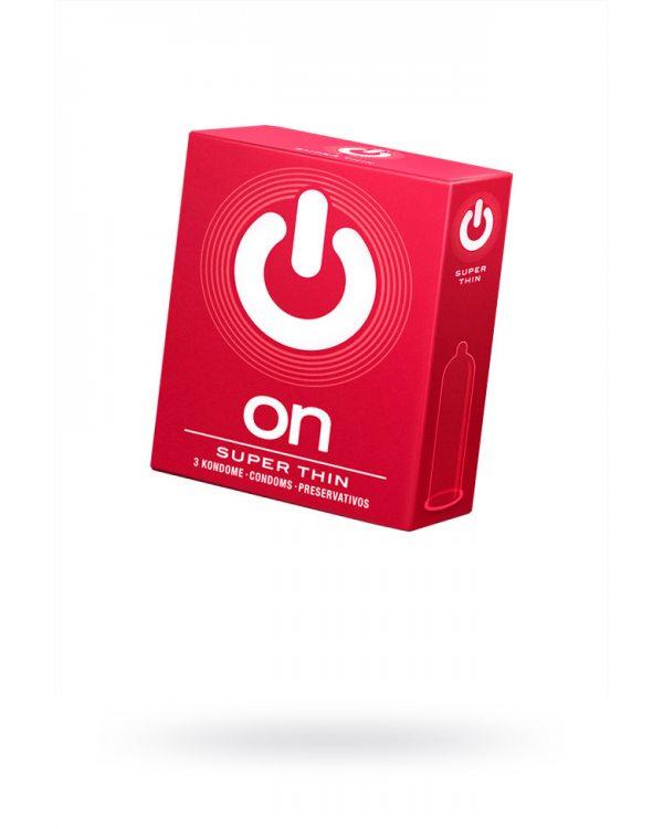 Презервативы On №3 -  супер тонкие цена за упаковку 379
